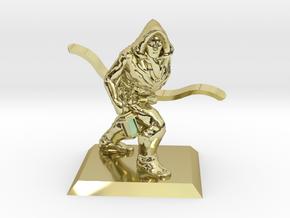 Explorer Elf Ranger in 18k Gold Plated Brass