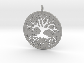 Celtic Knot Tree of life Pendant in Aluminum