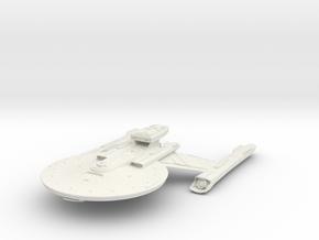 "Federation NewYork Class HvyCruiser V2 4.8"" in White Natural Versatile Plastic"