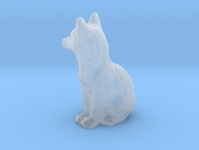 HO Scale fox in Smooth Fine Detail Plastic