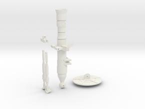 Clone Mortar in White Natural Versatile Plastic