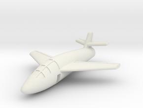 (1:144) Messerschmitt Me P.1079/4 in White Natural Versatile Plastic
