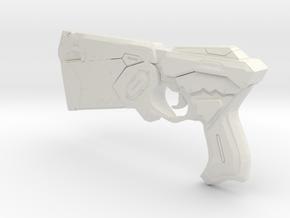 1/3rd Scale Dominator Type Gun in White Natural Versatile Plastic
