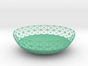 Semiwire Bowl in Natural Full Color Sandstone