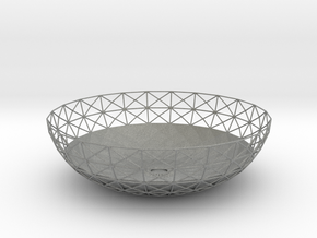 Semiwire Bowl in Gray PA12