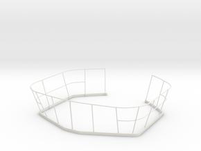 1/11 DKM Railing uboot in White Natural Versatile Plastic