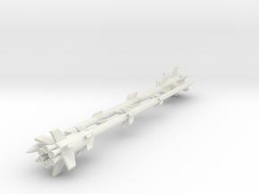 (1:144)(x2 on sprues) Rheinmetall Borsig Rheinbote in White Natural Versatile Plastic