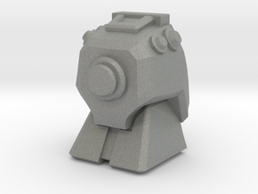 Lugnut Faceplate (Full) in Gray PA12