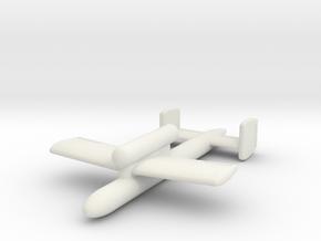 (1:144) Kawasaki Ki-147 I-Go-1A in White Natural Versatile Plastic