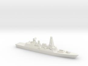 Type 45 DDG, 1/1250 in White Natural Versatile Plastic