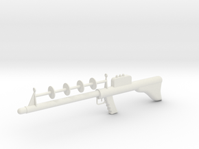 Lost in Space Season 1 Laser Rifle 1/6 1:6 Scale in White Natural Versatile Plastic