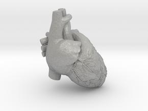 very tiny detail heart in Aluminum