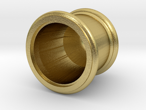 119 steam dome assembly in Natural Brass