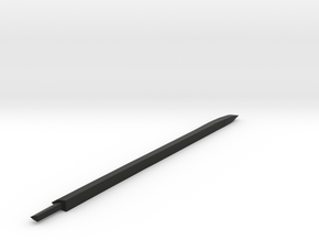 Larger Katana blade in Black Natural Versatile Plastic
