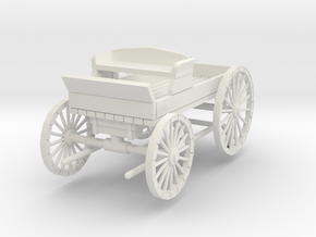 HDV02C Buckboard - Little Bits (1/24) in White Natural Versatile Plastic