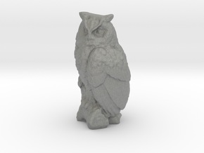 S Scale Owl in Gray PA12
