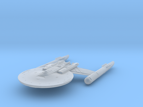 """Discovery time line USS NewYork 5.1"""" in Smooth Fine Detail Plastic"""