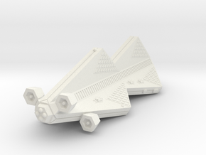 3125 Scale Tholian Scout Carrier (CSV) SRZ in White Natural Versatile Plastic