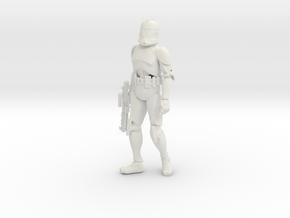 Printle V Homme 1563 - 1/24 - wob in White Natural Versatile Plastic