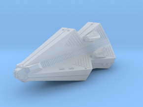 3125 Scale Tholian Pocket Battleship with Gunboats in Smooth Fine Detail Plastic