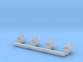 Human Males with HH, EG, and FB in Smooth Fine Detail Plastic