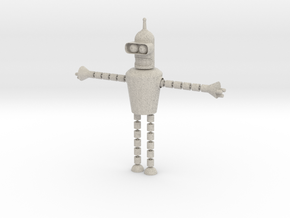 Bender Toy in Natural Sandstone: Small
