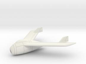 (1:144) Blohm & Voss BV P 212.01 in White Natural Versatile Plastic