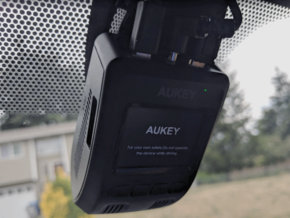 GoPro Clip to Aukey Dashcam Mount in Black Natural Versatile Plastic