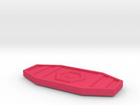 MechFansToys Laserwave Lens in Pink Processed Versatile Plastic