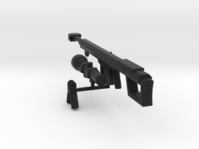 BMG-50cal.(MODEL) KIT  in Black Natural Versatile Plastic