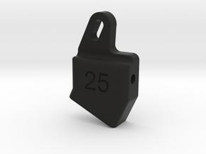 25RB in Black Natural Versatile Plastic