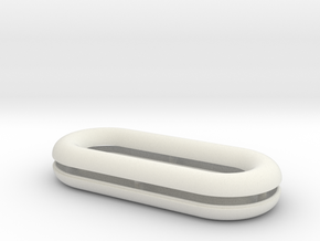 Raft, 5 inch in White Natural Versatile Plastic