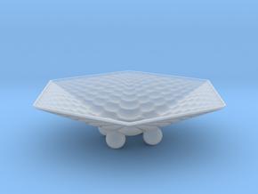 Hexafractalbowl in Smooth Fine Detail Plastic
