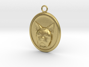 French Bulldog in Natural Brass