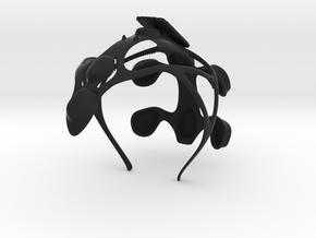 unicorn_part1_headpiece in Black Natural Versatile Plastic