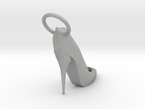 Right Foot Heel Earring in Aluminum