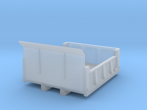 1/87 4-6yd (9ft) dump body in Smooth Fine Detail Plastic