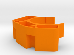 Preston Battery Holder for Left RoboCup Cupholder in Orange Processed Versatile Plastic