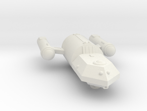 3788 Scale Federation Police Cutter (Callaghan) WE in White Natural Versatile Plastic