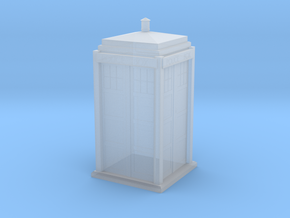 HO Scale Tardis in Smooth Fine Detail Plastic