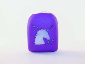 Unicorn - Omnipod Pod Cover in Purple Processed Versatile Plastic