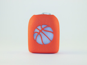 Basketball - Omnipod Pod Cover in Orange Processed Versatile Plastic