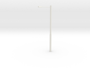 European Highway Light in White Natural Versatile Plastic: 1:87 - HO
