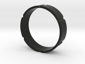 Y-town 1.9 interior ring in Black Natural Versatile Plastic