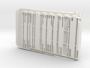 Credits Chip in White Natural Versatile Plastic