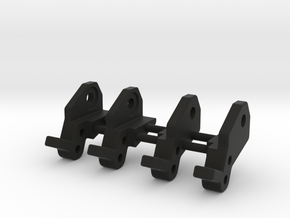 Axle Bracket Set for use with Goat chassis. in Black Natural Versatile Plastic