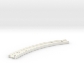 Motorway 4 Curve (B) with cars 1:1000 scale in White Natural Versatile Plastic