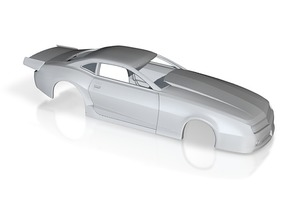 1/25 2012 Pro Mod Camaro Body in White Strong & Flexible Polished