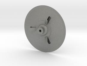 C-57D, 100 mm diameter, single piece in Gray PA12