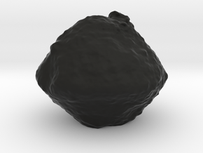 Ryugu asteroid (Hayabusa 2) in Black Natural Versatile Plastic